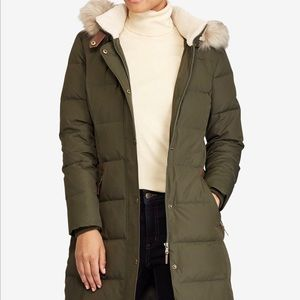 Ralph Lauren Faux Fur Down